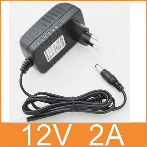 12v 2a Ac Dc 1pcs 12v2a ac 100v 240v converter adapter dc 12v 2a 2000ma power supply eu 5 5mm x 2 1 2