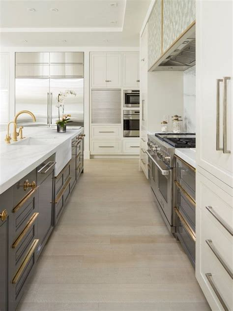 tow tone kitchen  tone ivory  gray kitchen kitchen