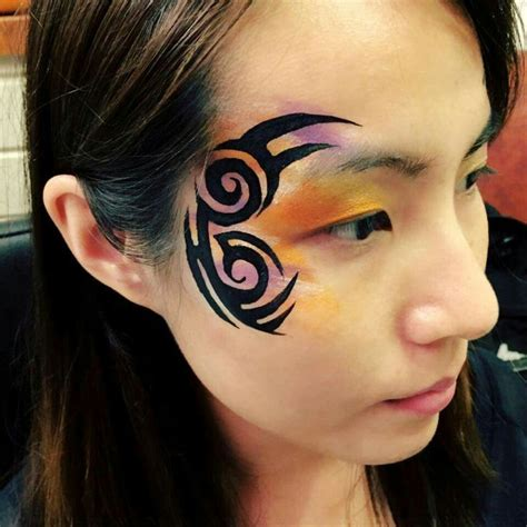 tribal pattern face paint 9 best images about tribal face paint on pinterest