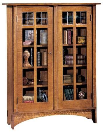1000 Images About Craigslist Finds Bauer Brothers On Mission Style Bookcase With Glass Doors