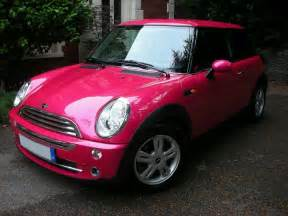 Pink Electric Mini Cooper Pink Mini Cooper Volkswagens Mini Coopers