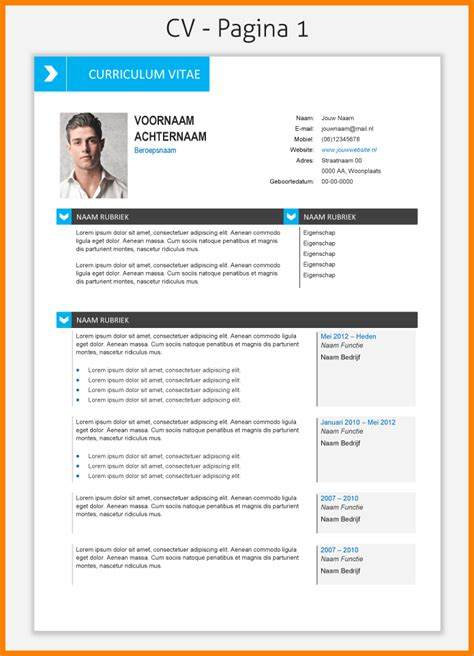 Is There A Resume Template In Microsoft Word 2007