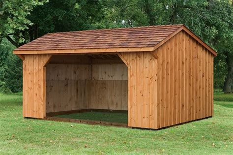 10x18 Shed by River View Barns All American Wholesalers