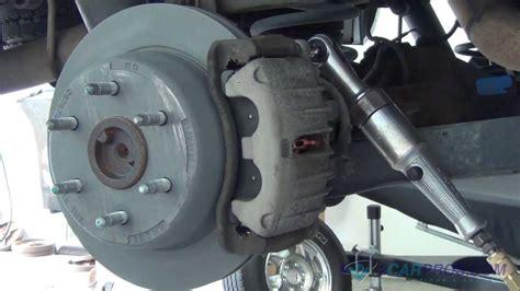 rear brake pads rotor replacement chevrolet tahoe