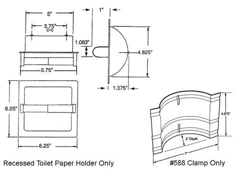 Stylish toilet paper holders