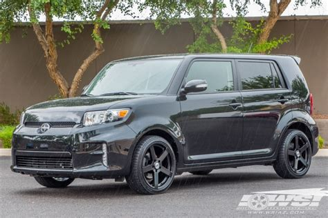 scion xb 18 wheels 2015 scion xb with 18 quot tsw in matte black rotary
