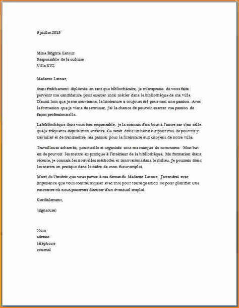 Exemple De Lettre De Motivation Gratuite Secrétaire Administrative 10 Lettre De Motivation Candidature Spontan 233 E Secr 233 Taire