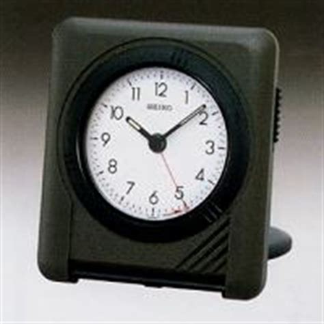seiko travel and alarms clocks ultra thin alarm clock quh305nrh