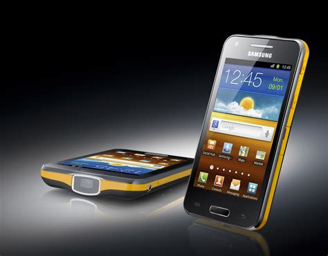 Handphone Samsung Galaxy Beam 2 samsung galaxy beam android 2 3 plus a portable projector eurodroid