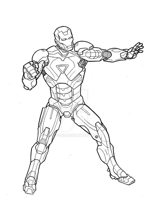 iron man mark 5 coloring pages iron man mark vi by e v4ne on deviantart