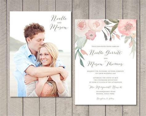 Hochzeitseinladung Fotos by Die Besten 25 Gr 252 Ne Hochzeitseinladungen Ideen Auf