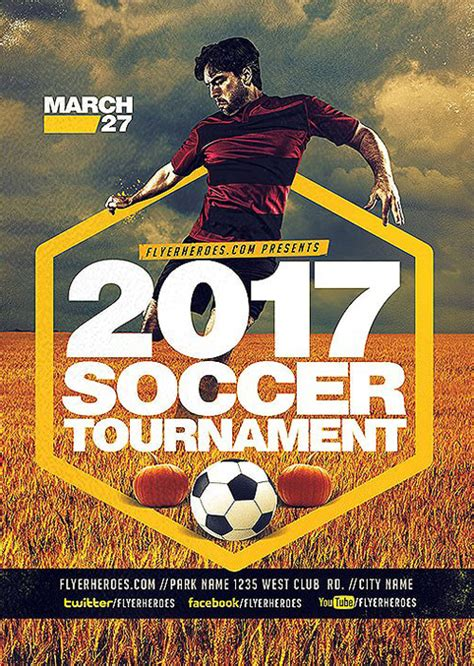 football tournament flyer template ffflyer 2017 soccer tournament flyer template for soccer and sport events