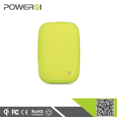 magnetic induction wireless power portable magnetic induction wireless power bank charger 4000ma