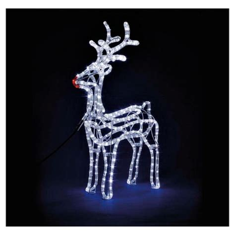 christmas light up reindeer christmas decorating