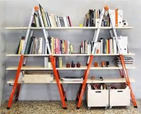 diy ladder bookcase diy bookshelves 18 creative ideas and designs