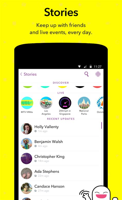 Play Store Snapchat Snapchat Android Apps On Play