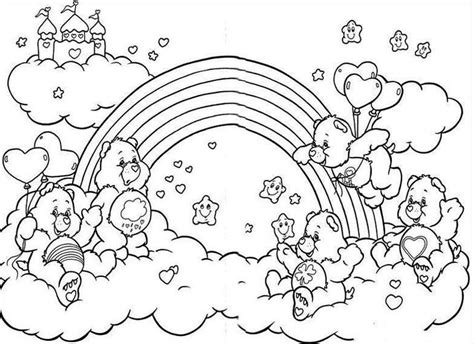 rainbow pictures to color rainbow coloring pages 360coloringpages