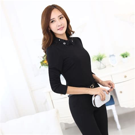 Casual Blouse business casual blouse with creative image in uk