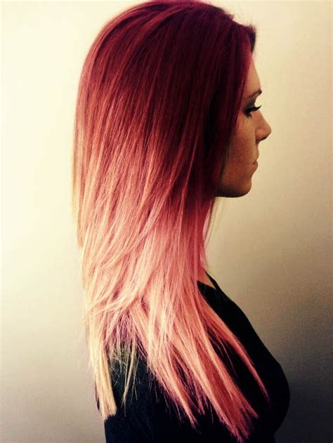 beautiful colored hair hairstyle image 2108138 by marky on favim