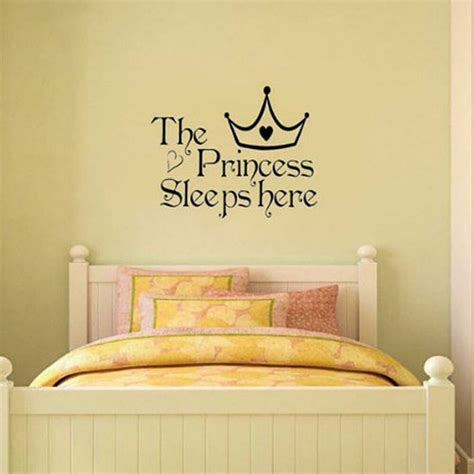 great princess removable wall sticker girls bedroom decor baby room decal art ebay