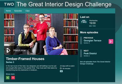 great interior design challenge bbc redhead design