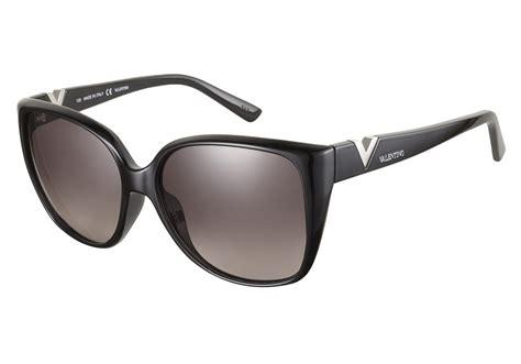 valentino v624s 001 black 56 valentino sunglasses