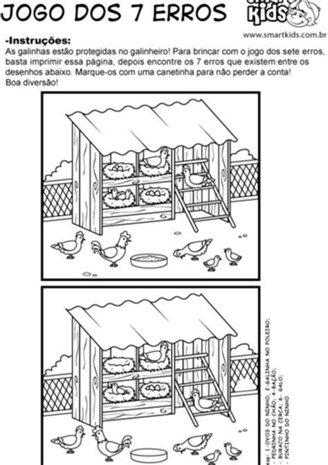 Atividade Fazenda Sete Erros - Atividades - Smartkids