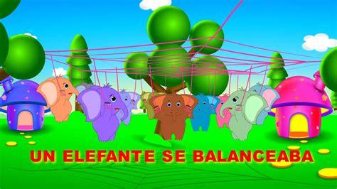 libro un elefante se balanceaba un elefante se balanceaba con letra canciones infantiles youtube
