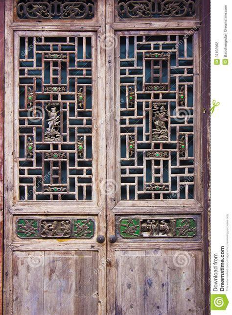 woodcarving doors  windows stock photo image