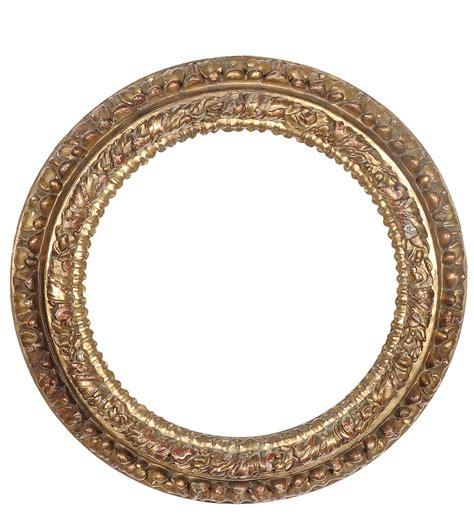 cornice rotonda cornice rotonda in legno intagliato e dorato xviii secolo