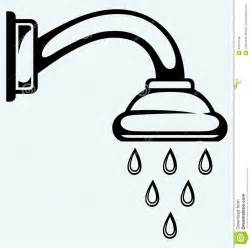 Shower Stall Faucet Shower Head Stock Vector Image 40040708