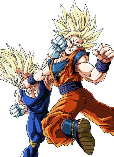 Goku Z goku vs majin vegeta z