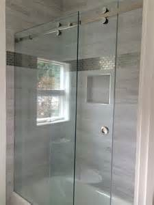 frameless sliding shower enclosure gallery of frameless showers as seen on hgtv s it