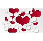 Ultra HD Wallpaper 3840&2152160 Heart Shape Pattern 4K