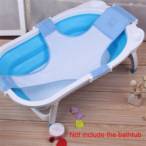 baby bathtub sling baby bathtub mesh seat support sling net infant bath tub hammock bathrooms new ebay