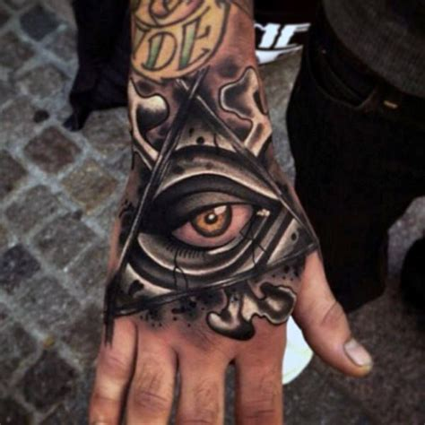 eye tattoo for man 36 best all seeing eye finger tattoo images on pinterest