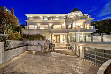 modern mansion west vancouver mansion