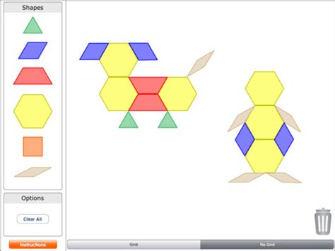 pattern shapes app pattern blocks by brainingc app for ipad iphone