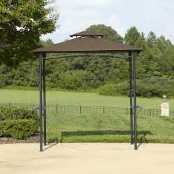 Outdoor Grill Canopy by Bbq Pro Grill Gazebo With Folding Shelves And Fabric