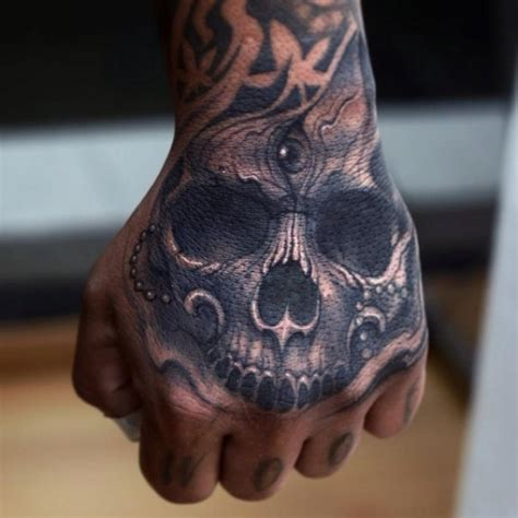 skull tattoos on hands skull tattoos designs ideas and meaning tattoos