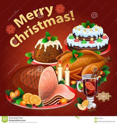 imagenes graciosas comida navidad cena de la navidad comida tradicional de la navidad y
