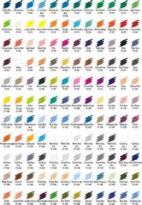 prismacolor 150 color chart overview premier colored pencils