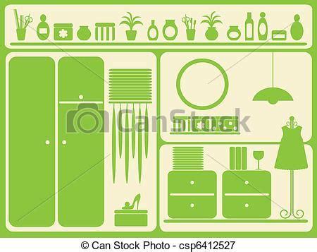 guardarropa habitacion ilustraciones vectoriales de guardarropa habitaci 243 n