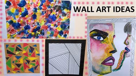 creative wall decor ideas diy youtube diy creative wall art ideas 4 easy to do wall art