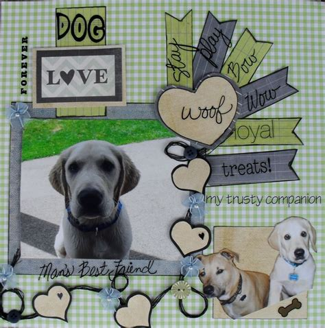 scrapbook layout ideas for pets image result for dog memorial scrapbook pages projects