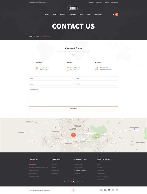 Themeforest Contact Support   canifa ecommerce psd templates by yolopsd themeforest