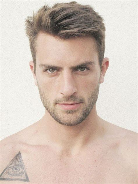 hairstyles for on sides on top short sides medium on top men hair cuts pinterest