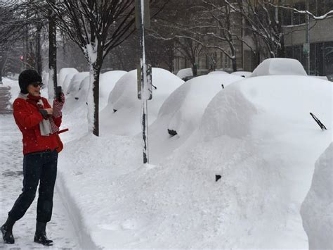 worst blizzard ever recorded snowzilla blizzard barrels down u s leaving up to 100