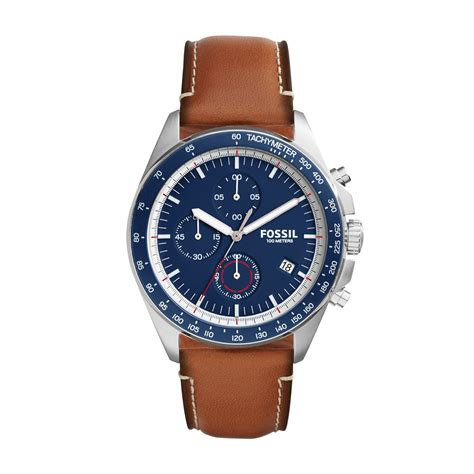 fossil chronograph mens house of fraser