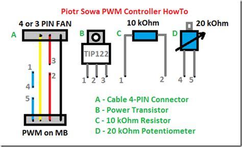 4 Pin Pwm Fan Wiring Diagram Wiring Diagram